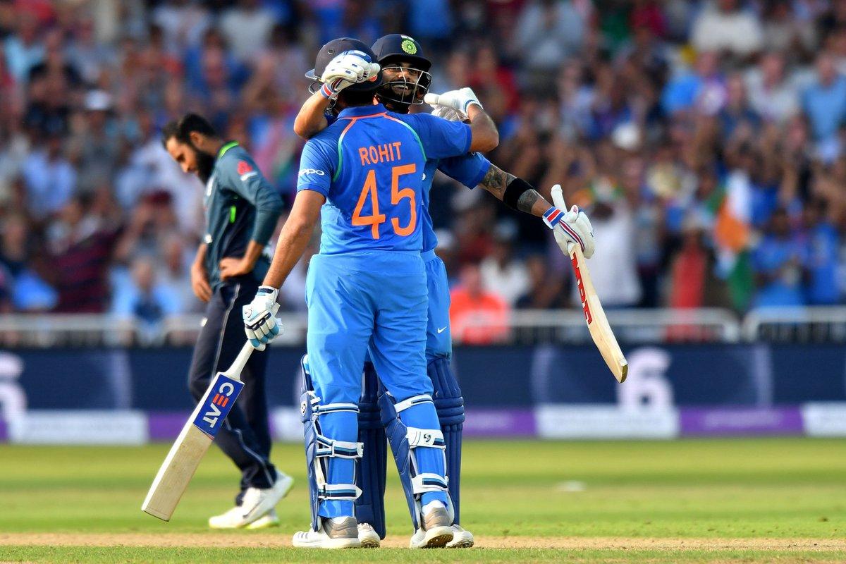 #ENGvIND - Kuldeep and Rohitman tame the English!