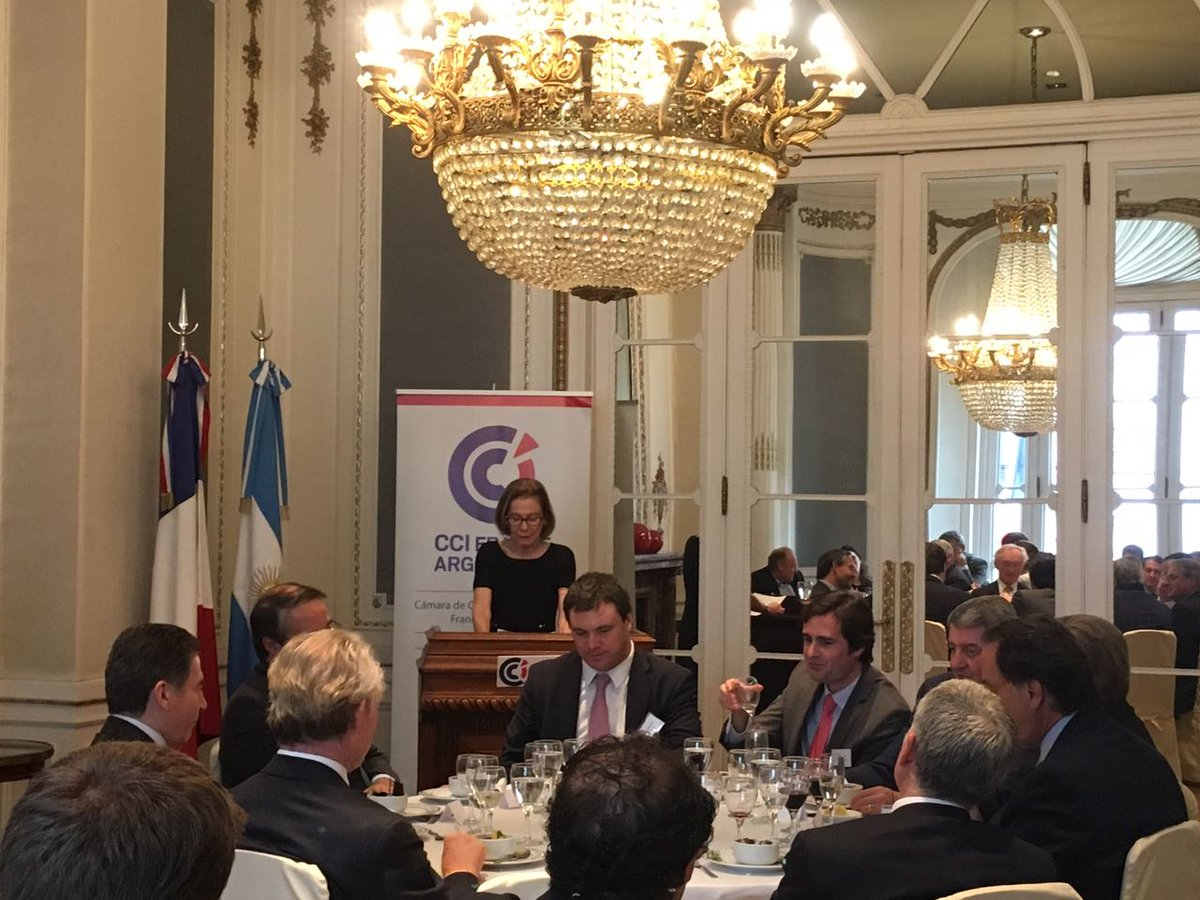 cci france argentine on twitter la pdte del tsjbaires ins weinberg fue hoy invitada de honor del almuerzo legalyfiscal que cont adems con la grata