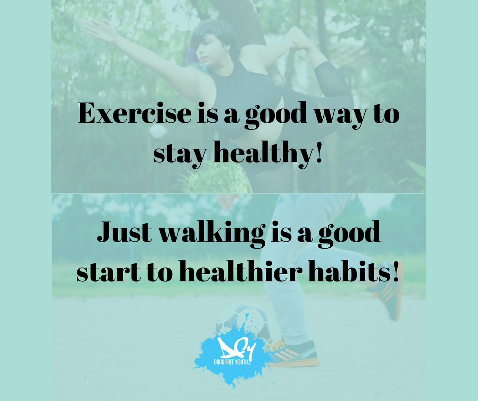 #ThursdayThoughts Exercise can be a positive addition to your routine. Just hoping off the metro one stop early to walk the rest of the way is a great start!