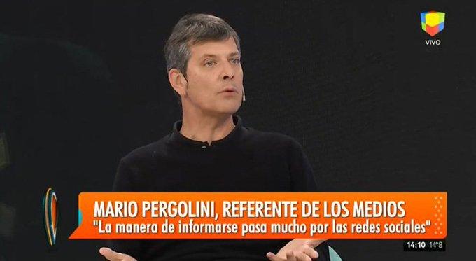 Vamos a hacer un noticiero que voy a conducir dijo Mario Pergolini en #Intrusos Foto