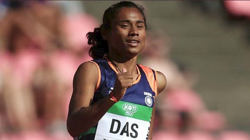 Hima Das wins gold medal in women's 400m event at IAAF World U-20 Athletics Championships https://t.co/EdCt50XYbV https://t.co/koTdtyXZbR