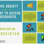 Although closing civic space presents a global challenge to #civilsociety, we were glad to see #Uzbekistan reverse harsh financial regulations on CSOs in May. Learn more below and discover your internationally-protected #RightToAccessResources here: https://t.co/oXBbL8iFt5