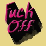 Image for the Tweet beginning: Eff off. #handlettering #procreate #profanity