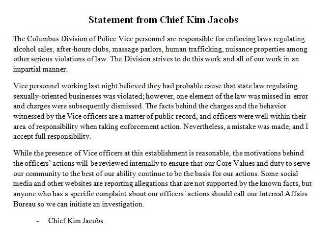 Columbus Ohio Police on Twitter: