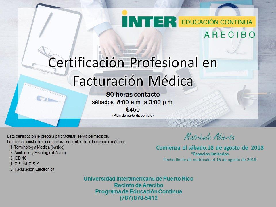 Hermosa Certificación De Facturación Médica Patrón - Anatomía de Las ...