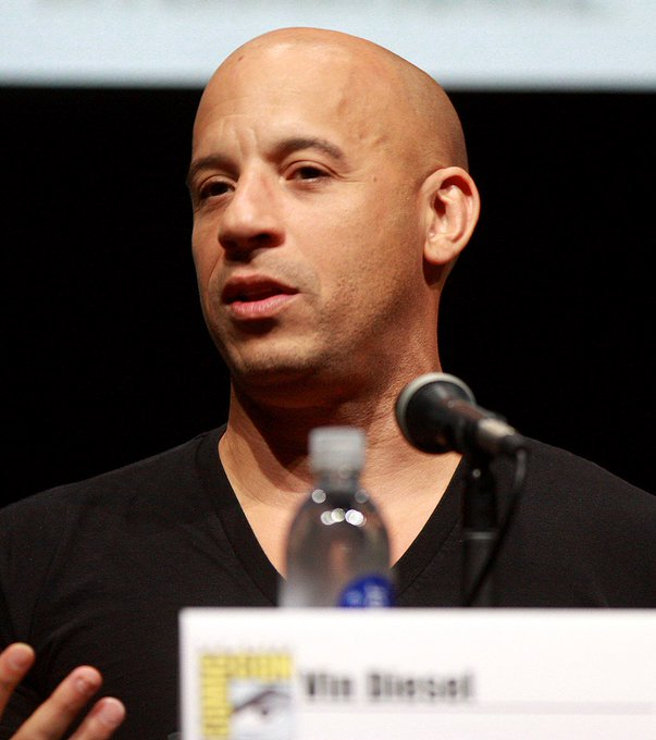 Happy Birthday Vin Diesel, well known for playing Dominic Toretto in the Fast and the Furious films.  He\s 51 today!