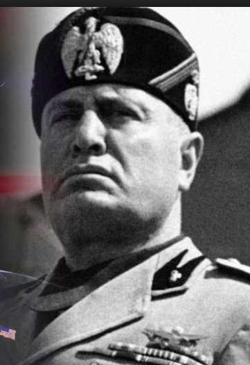 Also, Trump, as ever, is doing the Mussolini-face.