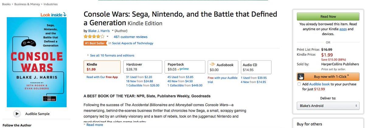 Console Wars Ebook