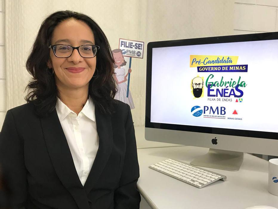 Com mesmo bordão do pai, Gabriela Enéas é pré-candidata ao governo de MG https://t.co/I8r6CZ5Bm3