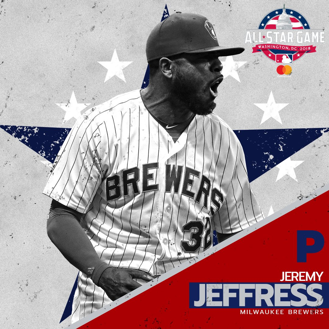.@JMontana41 has been named to the NL All-Star team to replace Sean Doolittle (left toe inflammation). https://t.co/Rt4IbkKENh