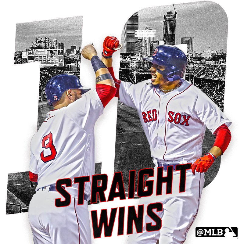 Right now, nobody can stop the @RedSox. https://t.co/vlEn5x648b