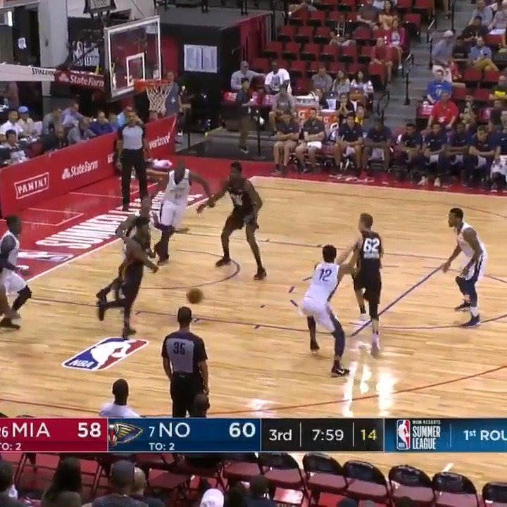 �� The BEST of @MiamiHEAT's 2⃣9⃣ assists in the win!  #NBASummer https://t.co/lFWrOtZLNh