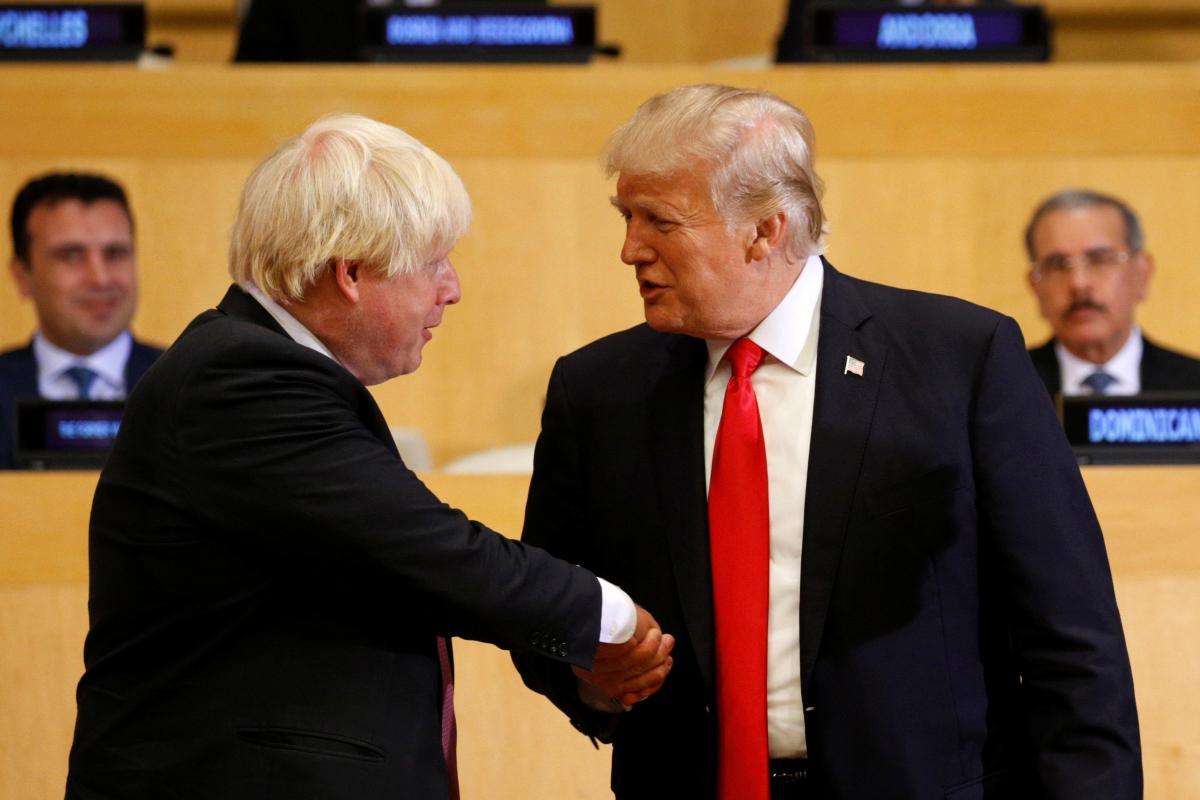 JUST IN: Trump: Boris Johnson would make a 'great' UK prime minister https://t.co/Qmfj5kIJXU https://t.co/A74psTOCiG