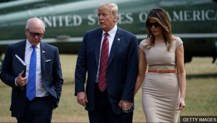 US President Donald Trump said he was 'fine' about any protests during his visit to the UK #bbcqt https://t.co/Pt0cwge8gN