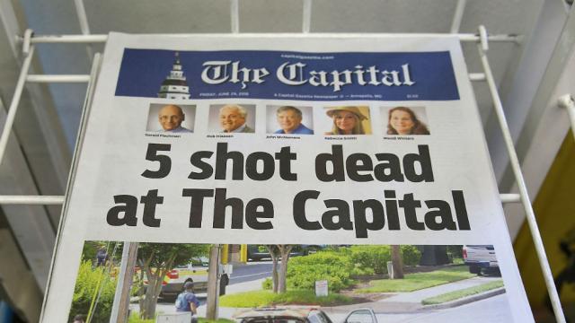 NEW: Senate passes resolution honoring victims of Capital Gazette shooting https://t.co/eUacbyGw0V https://t.co/Vjfuj7GquA
