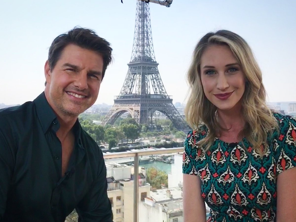 Let's make like Tom and Cruise #missionimpossiblefallout  I've never been photo bombed by the Eiffel Tower before, cheeky bugger.