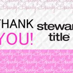 Did you know that @StewartTitle is a sponsor of the BCF?  Their amazing support helps us with educational program development and victim assistance.  Thank you, Stewart Title!  #Realtor #Safety #RealtorSafety