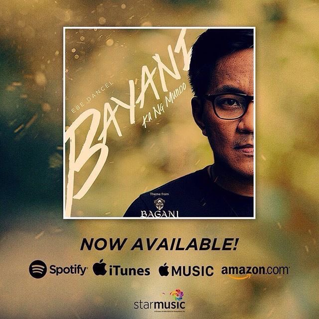 Hey guys! You can stream the track you heard on last night&#39;s episode of Bagani, as sung by Ebe Dancel, over on Spotify. Bayani Ka Ng Mundo out now in digital stores and available for streaming at this link:  http:// sptfy.com/Gxh  &nbsp;   #BAGANITimbog <br>http://pic.twitter.com/Nb97XFmxkb
