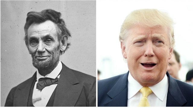 Trump falsely claims poll shows he's more popular than Lincoln https://t.co/i2HFChpgdt https://t.co/F9XyCl69iJ