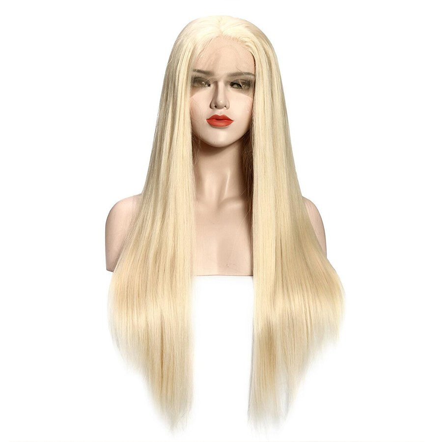 I got a platinum blonde wig it's the ultimate confidence booster