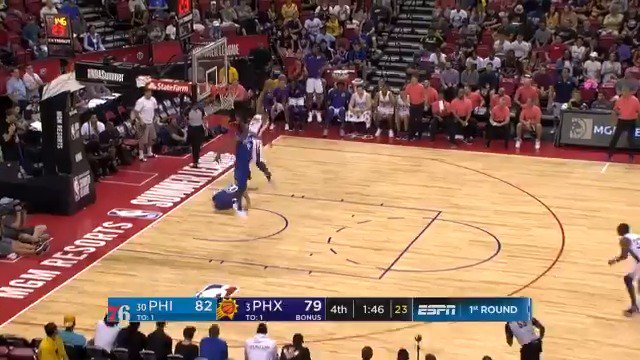 Shaq Harrison leaves no doubt with emphatic slam!  #NBASummer https://t.co/USQN81TyMs