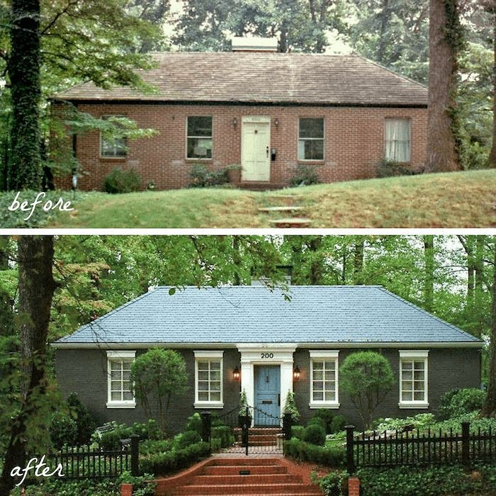 #beforeandafter #home #exteriordesign #hometransformation #homesweethome # laurelberninteriors #curbappealpic.twitter.com/hCaHYs4P6B