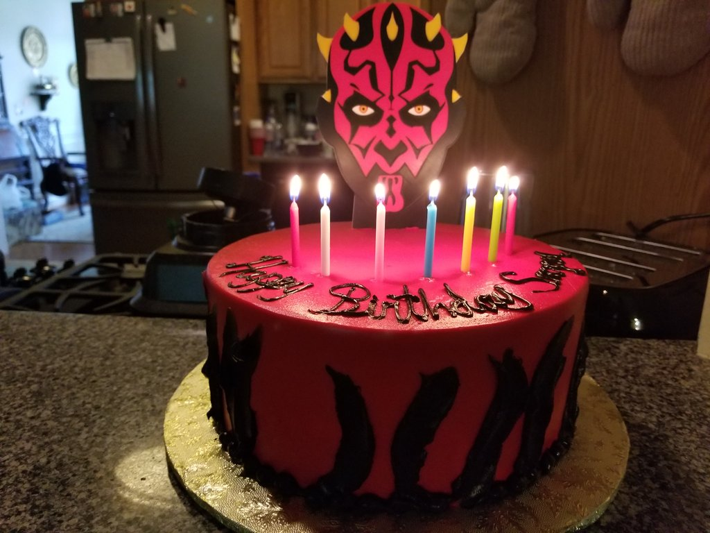 Vicky Somma Errf2018 On Twitter How That Darth Maul Cake Turned