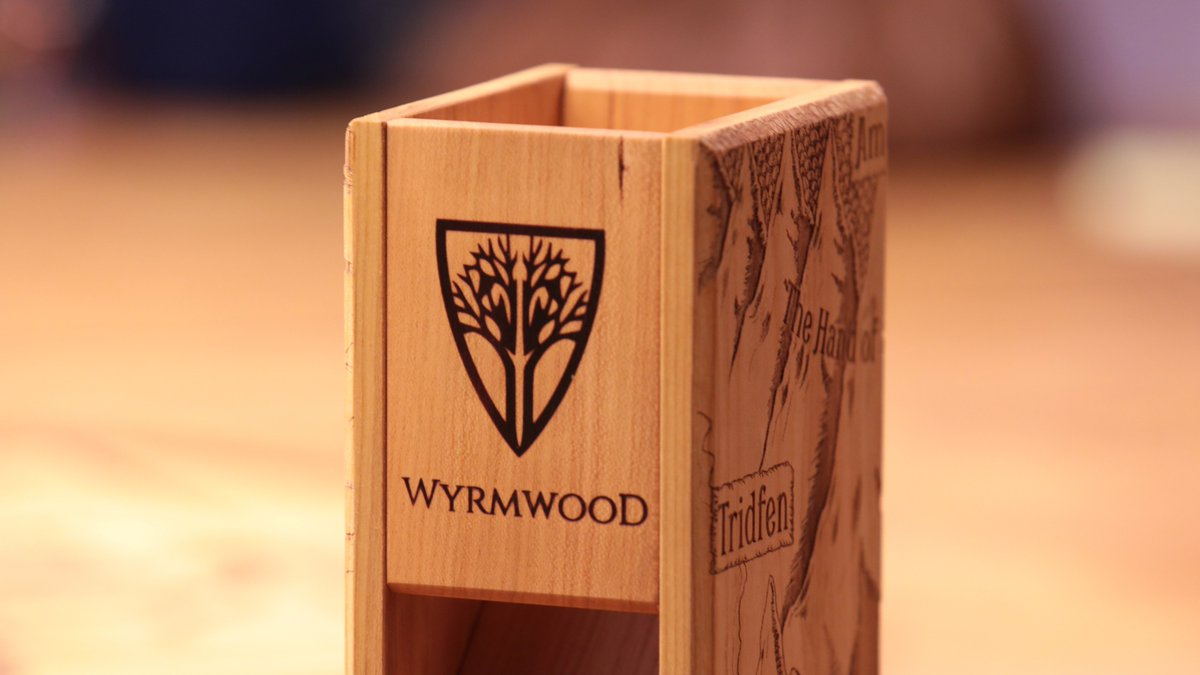 Friendly reminder: the @WyrmwoodGaming giveaway is back for tonights episode of #CriticalRole! But heed this important update to the rules: To participate, be sure to head over to twitch.tv/criticalrole during the break and enter the keyword ONCE lest ye be disqualified!