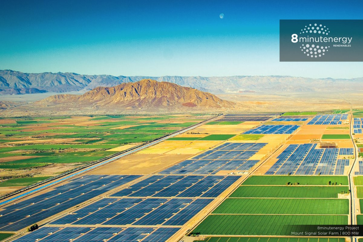 328 MW of solar power energized by 8minutenergy in California https://t.co/a4agHY3pOD #solarenergy #solarpower https://t.co/w45gRTFEhq