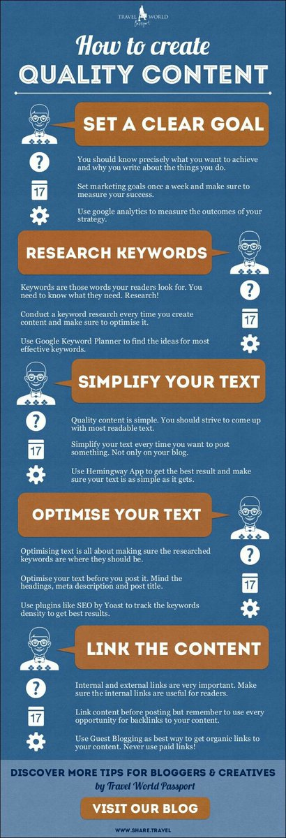 How to Create Quality Content  #SocialMedia #SocialMediaMarketing #DigitalMarketing #ContentMarketing #GrowthHacking #content #SEO #SMM #Ecommerce #Marketing #content #MarketingAutomation #InfluencerMarketing #Blogging #Infographic #SEOTips #SEOTalk #blogs #B2C #blockchain #GDPR<br>http://pic.twitter.com/jLZcLX8yWY