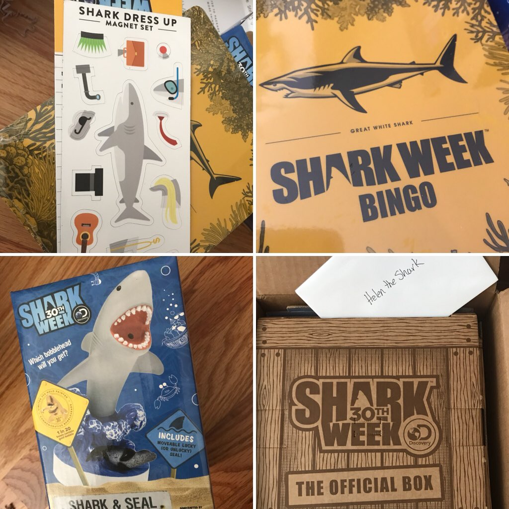 #WhenINeedAPickMeUp it's a #SharkWeekBox from @theSharkWeekBox ... this made my day- I love packages!<br>http://pic.twitter.com/YpevxENPwl