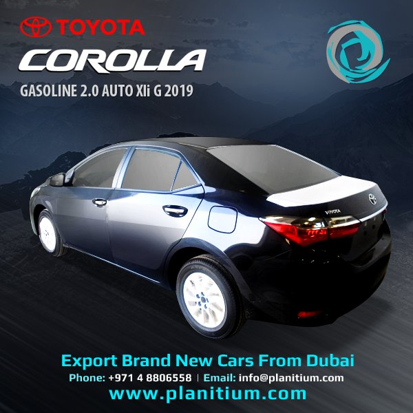 Planitium On Twitter 2019 Toyota Corolla 2 0 Gasoline Auto Xli G