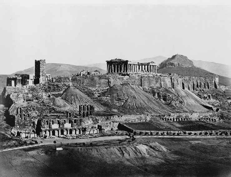 Acropolis of Athens,1850. <br>http://pic.twitter.com/GnY4cf5HlW