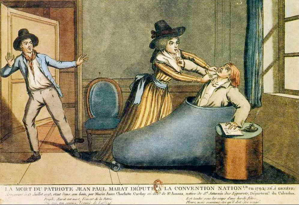 a biography of jean paul marat one of the leaders of the french revolution On july 13, 1793, jean paul marat, an important leader during the french revolution, was assassinated in his bathing-tub marat began as a writer on politics and grew to be a violent radical leader.
