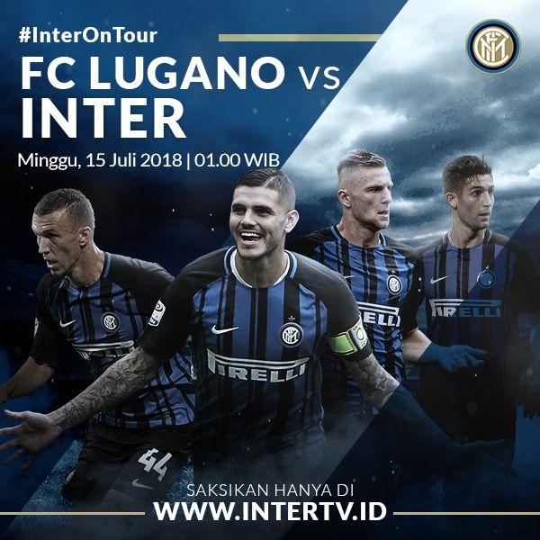 Buat lo yang kangen nonton Inter main, jangan lupa lewatkan rangkaian #InterOnTour yang akan berlangsung Minggu besok melawan Lugano! Ditayangkan gratis dengan kualitas HD, langsung aja registrasi ke sekarang! Foto
