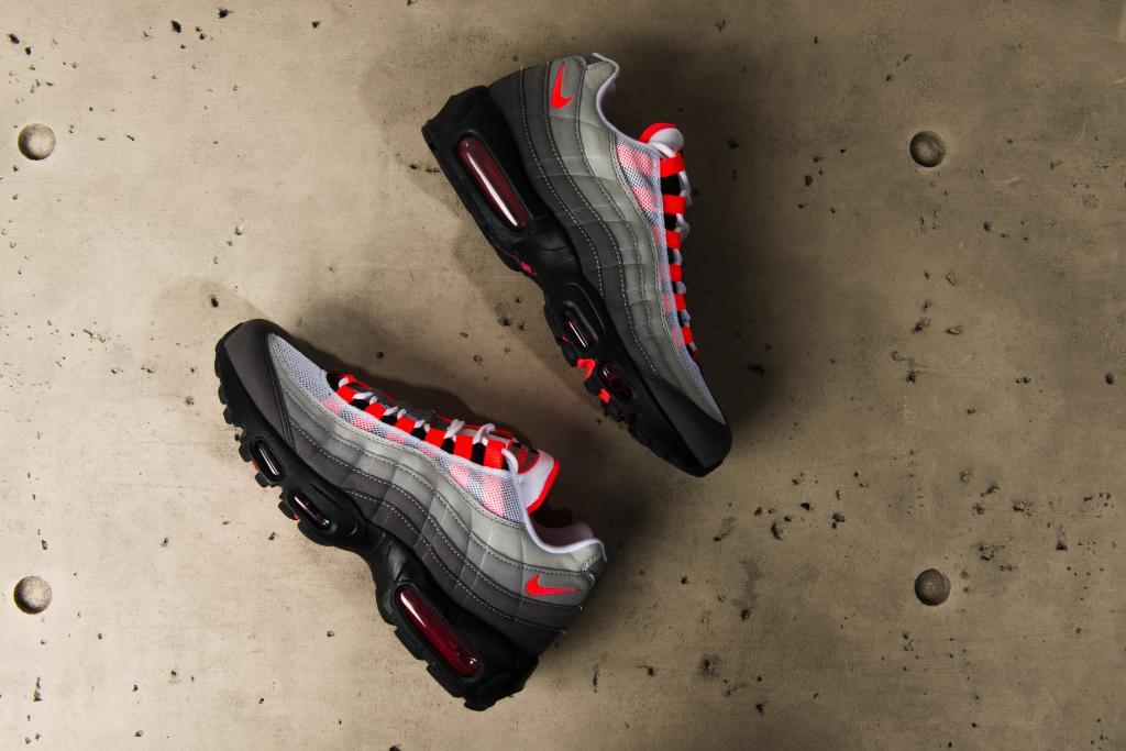 Another OG returns.  Nike Air Max 95 OG  Solar Red  Launching 7 b67445cdd