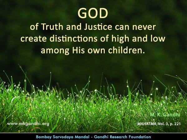 Mkgandhi On Twitter Thought For The Day God Mahatmagandhi