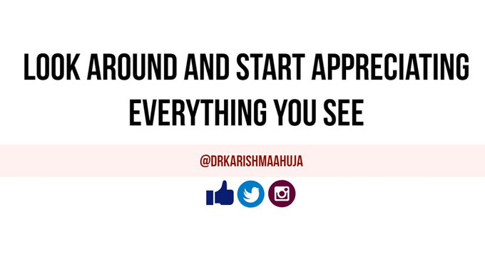 Appreciate everything: #quote #FridayFeeling Photo