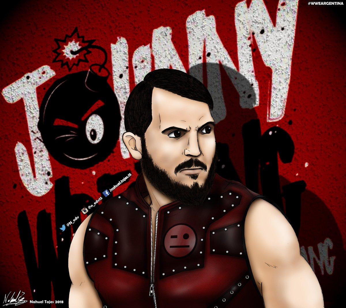 Johnny Gargano  @JohnnyGargano hope you like it  #fanartfriday #JohnnyWrestling #BeYourself #WWE #WWENXT #JohnnyGargano #drawing #dibujo #wrestling @wwe @WWENXT<br>http://pic.twitter.com/YMGZQ7XRWl