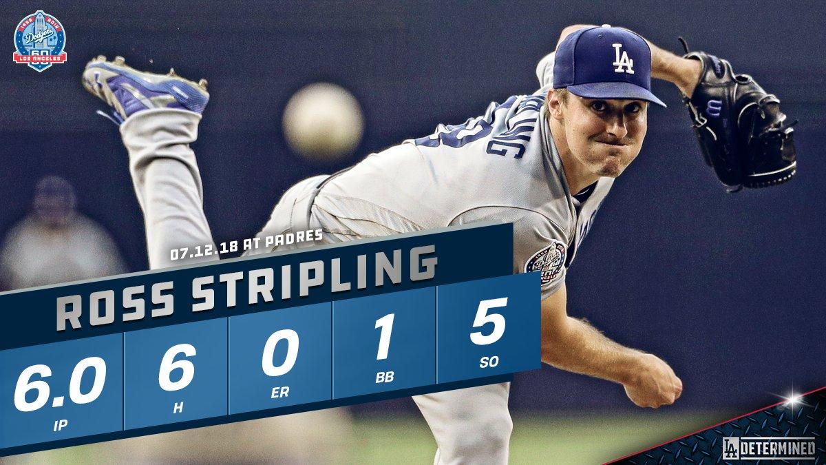 An All-Star performance. #Dodgers https://t.co/k8AZ97mM24