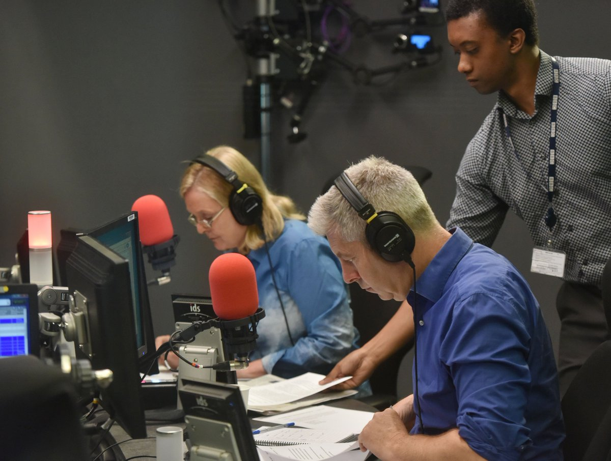 Good morning. Presenting today are @JustinOnWeb and @Marthakearney #r4today