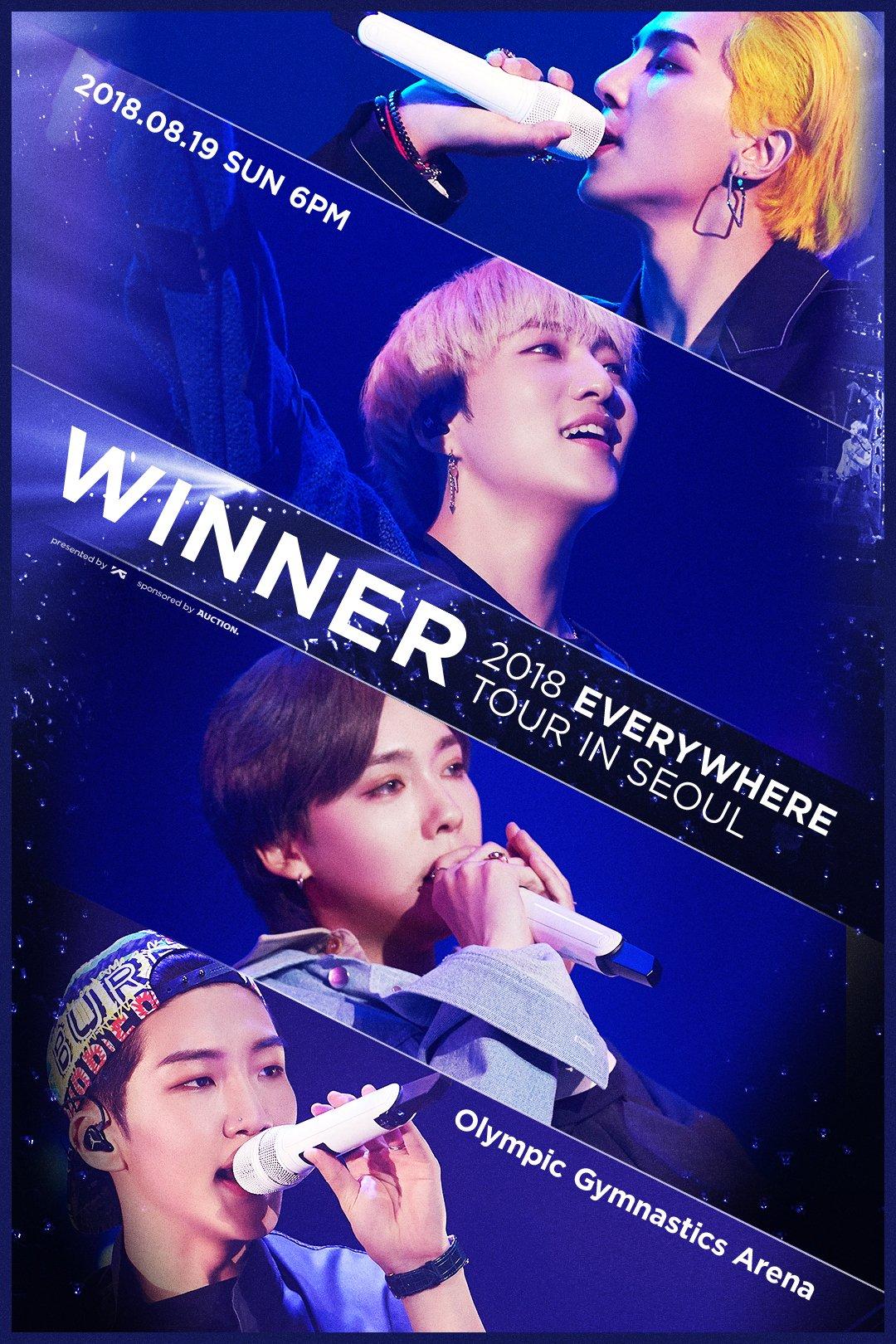 #WINNER 2018 #EVERYWHERE_TOUR  ➡️ https://t.co/x291ZBFgmm https://t.co/OqXMFHJDlS