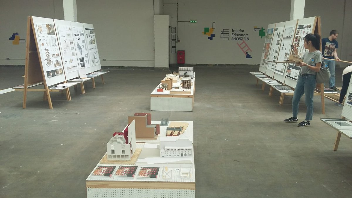 Come see @UNNIntArch graduate talent at this years brilliant @IE_interiorists @FreeRangeShows Rruman Brewery. #interioreducators #interiorarchitecture #london<br>http://pic.twitter.com/W2eLV0kDF9