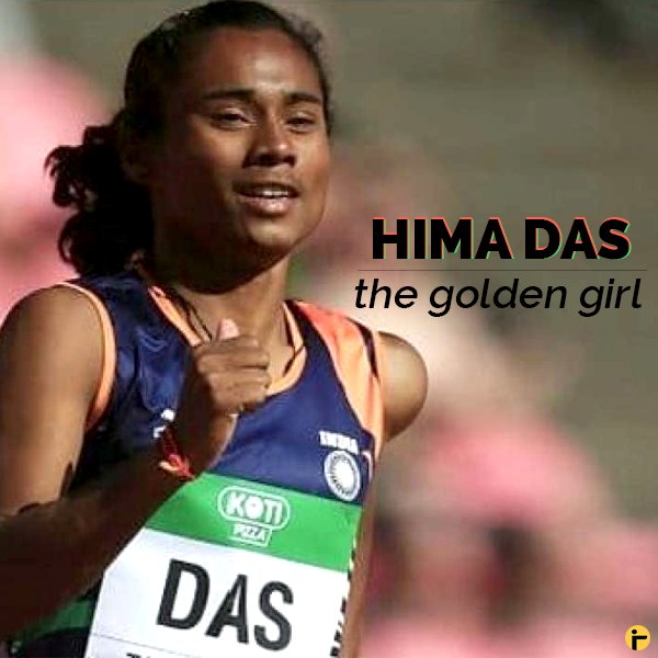 18-year-old Hima Das has created athletics history. She has gotten India its first ever track gold by winning the 400m at #IAAFTampere2018. Congratulations, #HimaDas. You can make your dreams come true: https://t.co/VTdqDwfcn9  #Athletics #Women #India #WorldU20Championship https://t.co/y2cnNWNwYS