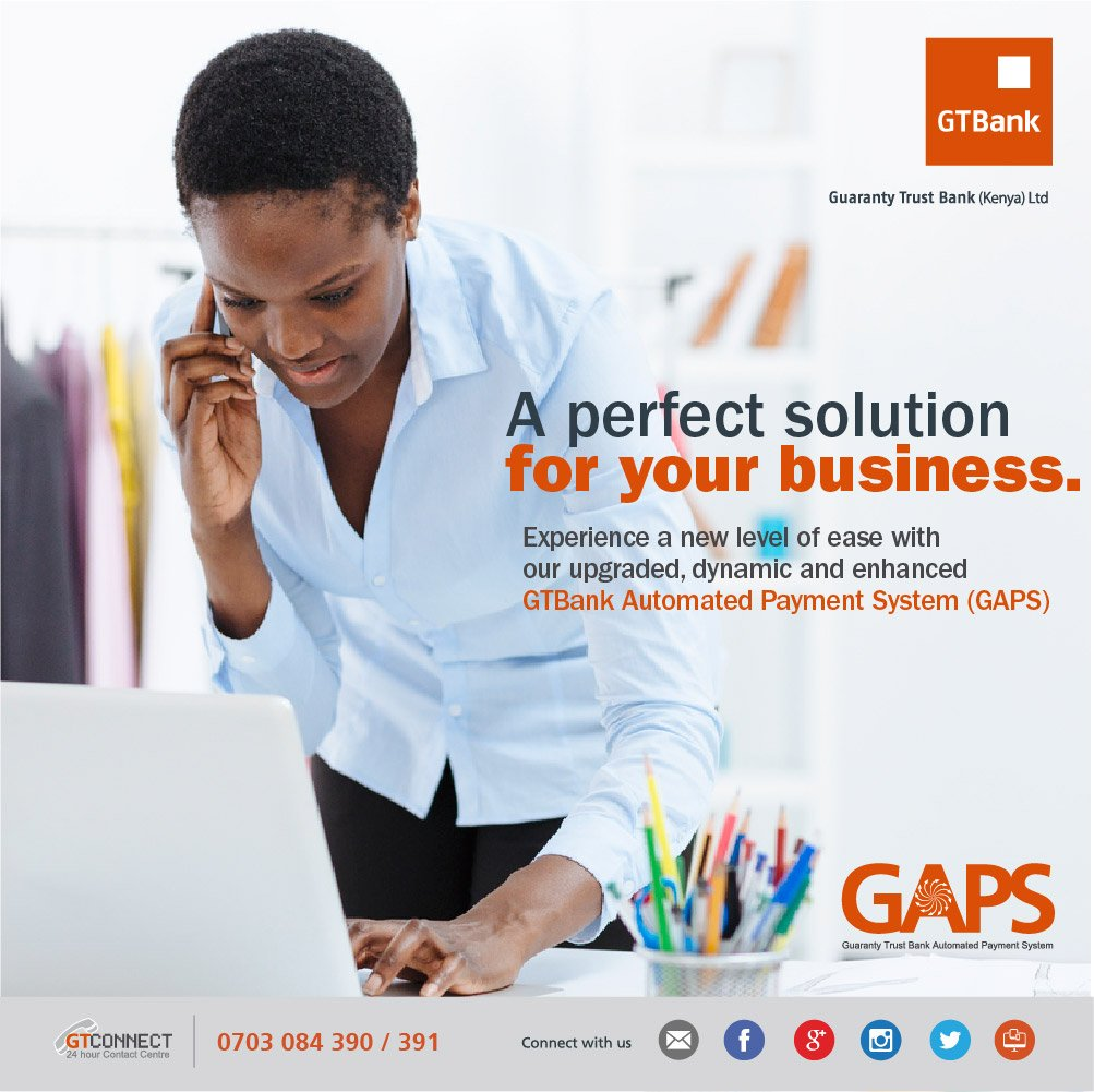 GTBank Kenya on Twitter: