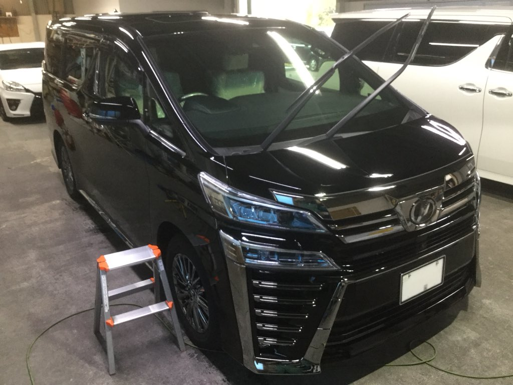 美車門 On Twitter トヨタ 新型 ヴェルファイア ガラスボディー