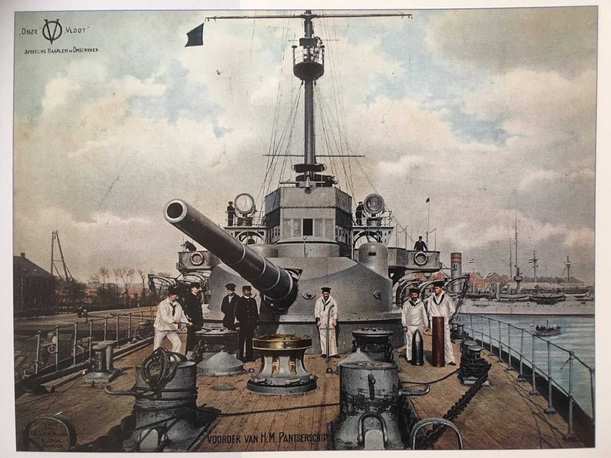 Klaas Meijer On Twitter The 28cm Canon Of Dutch Coastal Defence Ship Jacob Van Heemskerck 1910 The Ship Was Captured By The Germans In 1943 And Changed Into Floating Aa Battery Undine