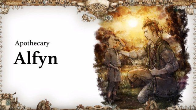 At long last, I can officially say that I am voicing Alfyn in Octopath Traveler. I hope you enjoy! #OctopathTraveler Photo