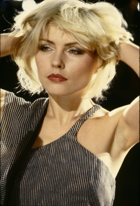 OTD  in  1945 Deborah Harry, singer (Blondie-Heart of Glass), born in Miami, Florida   Happy  Birthday