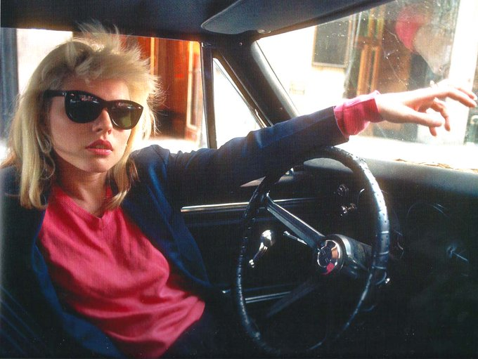 Happy Birthday today to singer, actress, mold breaking punk girl, and total talent, Debbie Harry